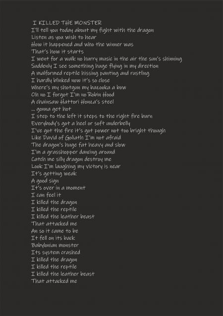 Zabiłem Smoka tekst - I killed the monster - lyrics